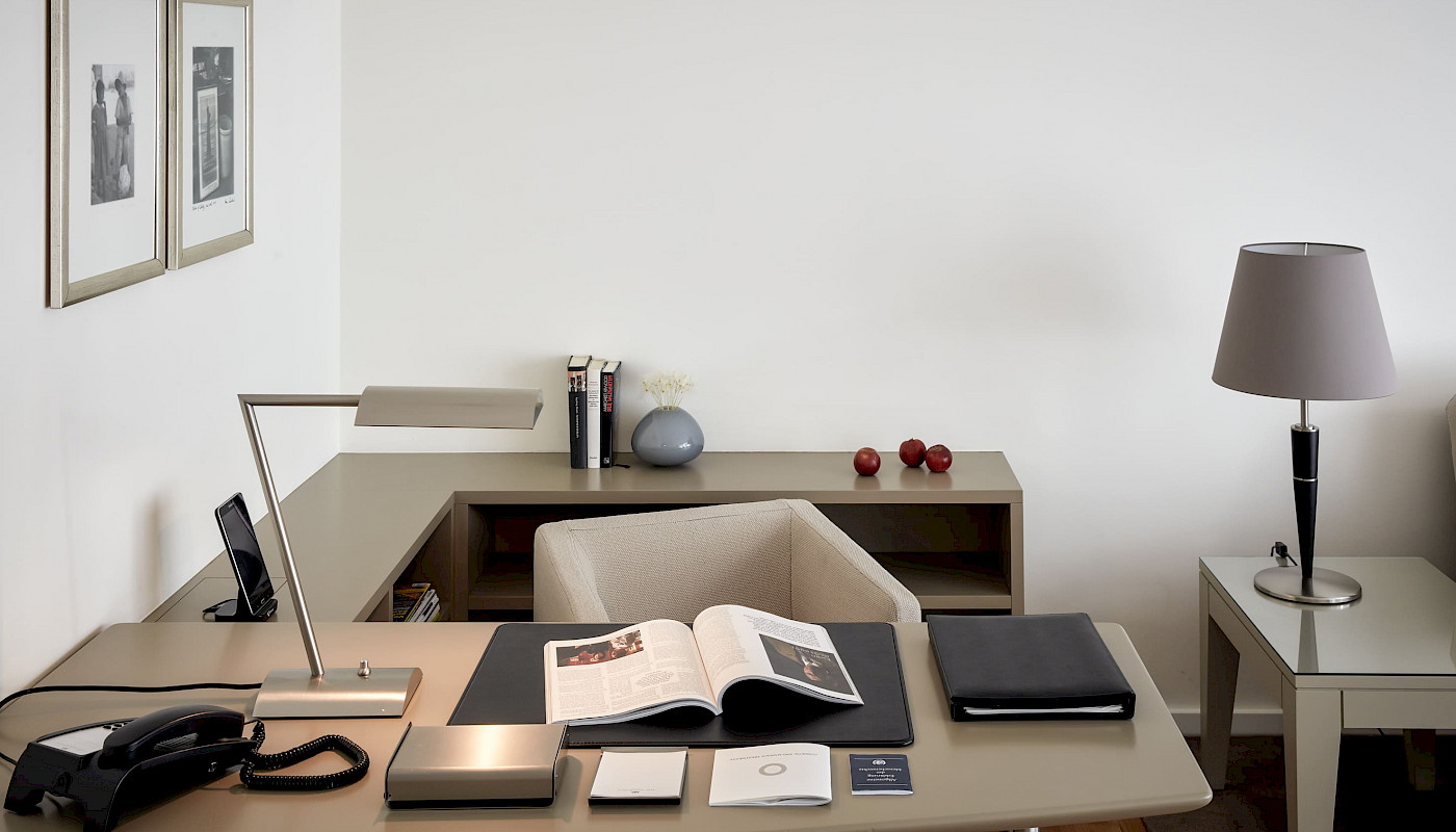 Comfortable space to work or write in our Executive Superior Suites